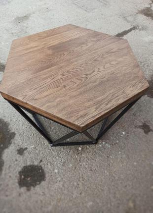 Журнальний столик із дуба