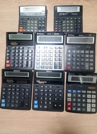 Калькуляторы Optima, Skiper, Brilliant, CITIZEN