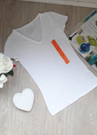 Белоснежная футболка размер хс-с