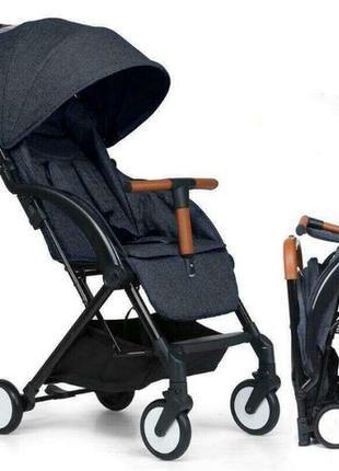 Детская прогулочная коляска Aby IndiGo 717 black Новая