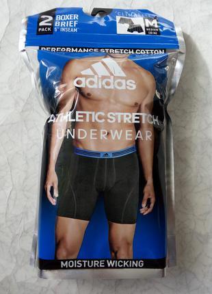 Чоловічі труси боксери adidas athletic stretch climalite рм ор...
