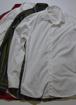 Рубашка etro milano silk cotton