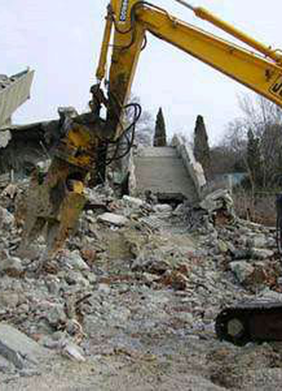 Снос домов,демонтаж зданий