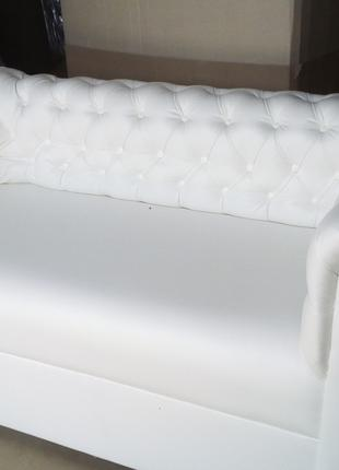 2-х местный диван Честер для кафе. Каретная стяжка  д