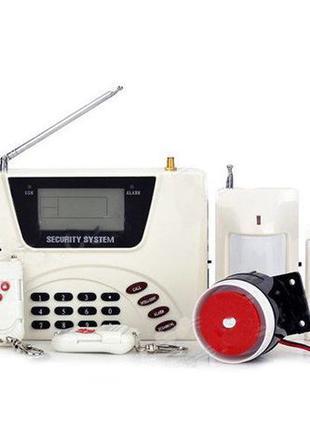Охранная система, GSM сигнализация 360 RU 433 GSM Alarm