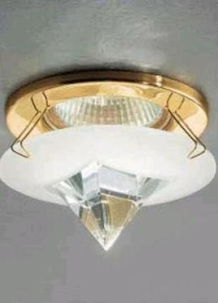 Светильник ORION STR 10-286 Gold встраиваемый потолочный