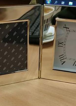 Часы с рамкой для фото
