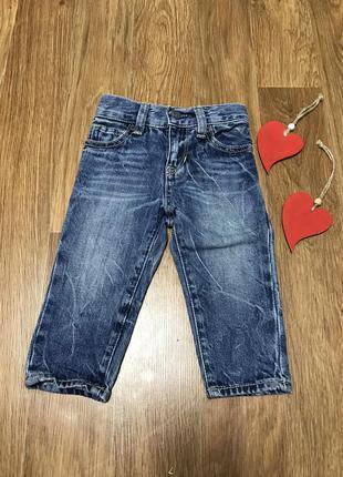 Крутые джинсы gap 6-12 мес