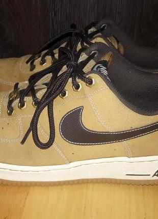 Nike air force1 - шкіряні кросівки, кеди