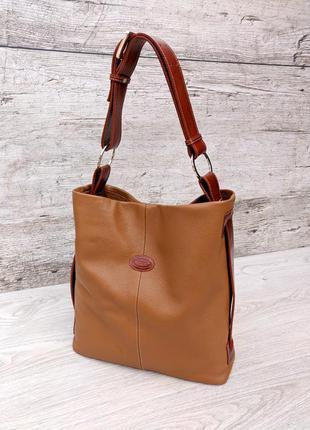 Tod's кожаная сумка хобо 100% натуральная кожа tods