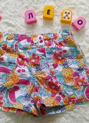 Яркие летние шорты для девочки