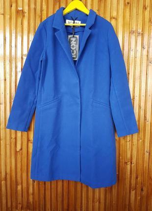 Новое демисезонное синее пальто icon.