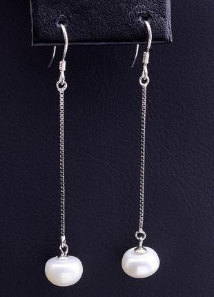 Серьги 'sunstones' жемчуг серебро(925) 0790500