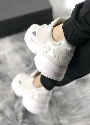 Кроссовки Adidas Falcon Full White🔝