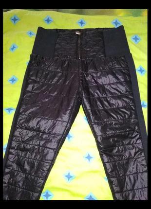 Зимние стеганые брюки