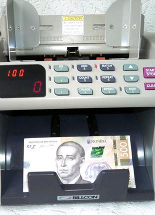Счетчики банкнот BILLCON 120, купюросчетная машинка, лічильник ба
