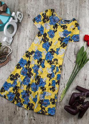 Платье вискозное яркое от f&f