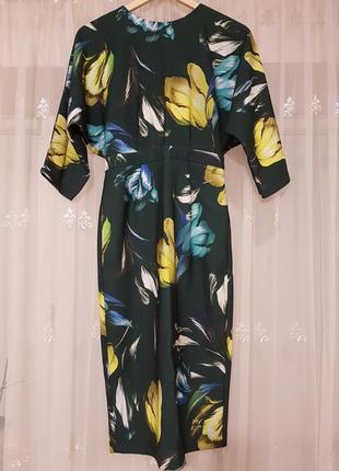 Красивое платье в цветы от asos
