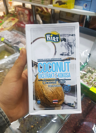 Кокосовое молоко Киер 100% Кокос Таиланд