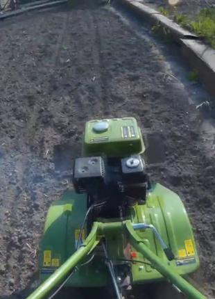 Бензиновий Мотоблок ПРОТОН МБ-80/1 с плугом!! Вживаний! Без колес