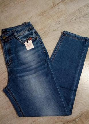 Мом джинсы высокая посадка!