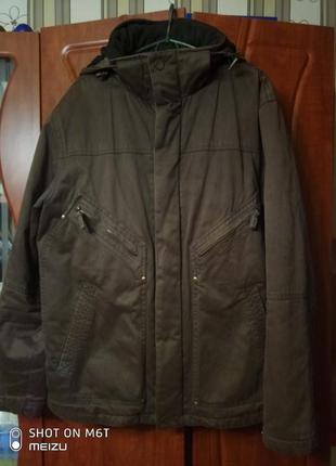 Крутая котоновая куртка деми сток