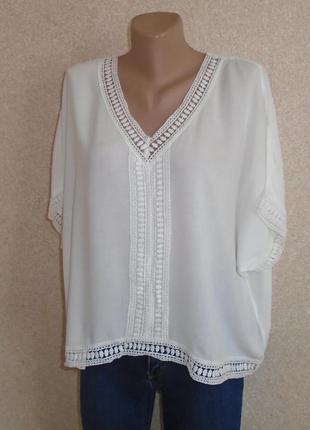 Легкая летняя блуза-летучая мышь/блузка/футболка