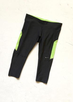 Nike dri fit тайтсы, лосины, капри для спорта, оригинал
