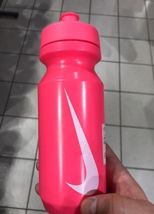 Nike  бутылка для воды розовая 0.6l