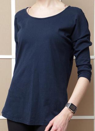 Базовая футболка с длинным рукавом h&m