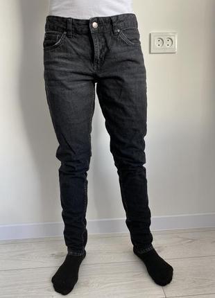 Boy friend, джинсы бойфренд, темно серые черные джинсы, брендо...