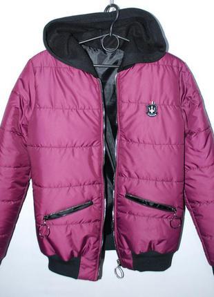 Женская куртка холодная весна осень