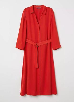 Красивое платье рубашка h&m