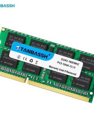 Память для ноутбука TANBASSH DDR3 1600 4GB 1.5V