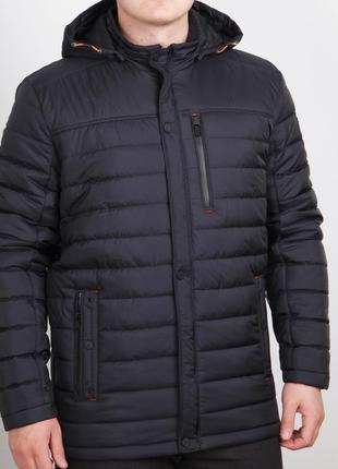 Весенняя удлиненная мужская куртка (50-62рр)