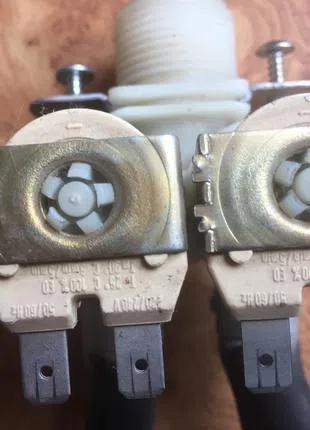 Клапаны  стиральной машины