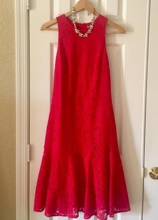 Красивое кружевное платье h&m большого размера