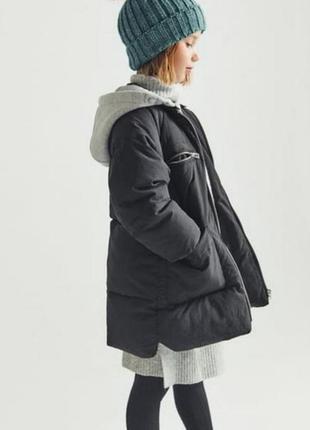 Утепленное пальто zara 128-164
