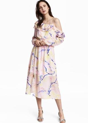 Воздушное летнее платье h&m