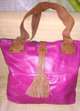 Кожаная сумка twiggy