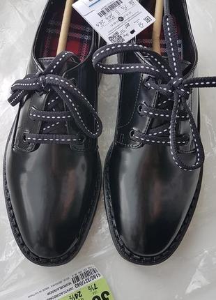 Осенние туфли, оксфорды bershka