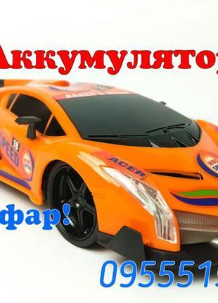 ГОНОЧНАЯ Машинка спорт-кар,машина на радио-управлении пульту р...
