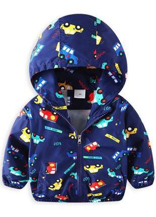 Детская куртка ветровка для мальчика,на мальчиков,Демисезонная...