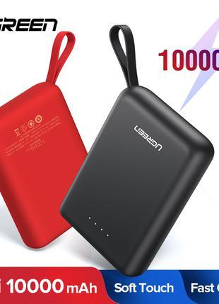 Power Bank Ugreen 10000 mAh MicroUSB Type-C повербанк зарядка