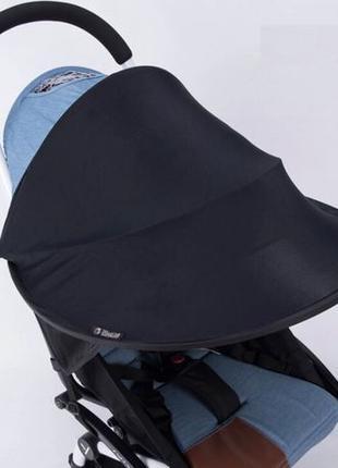 Солнцезащитный козырёк, удлинитель капюшона на любую коляску