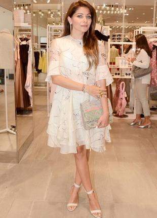 Воздушное летнее платье h&m conscious