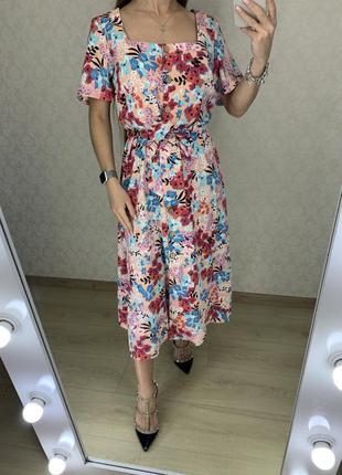 Платье миди в цветах george