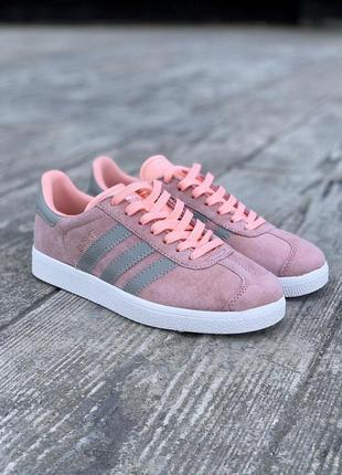 Adidas шикарные женские кроссовки адидас в розовом цвете весна...