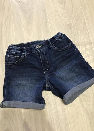 Шортики на девочку джинсовые