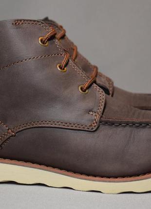 Ботинки caterpillar cat мужские кожаные. оригинал. 41 р./26.3 см.